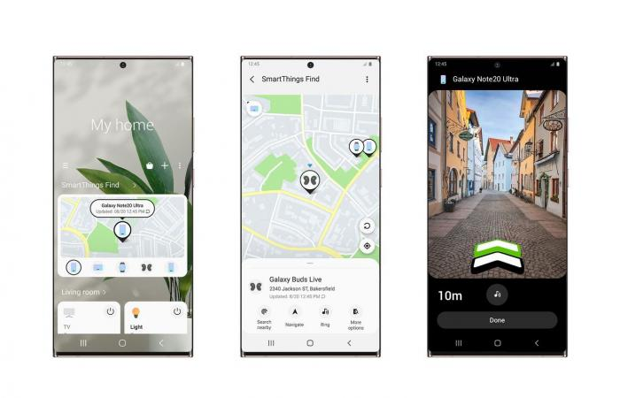 SmartThings Find يتعقب أجهزة جالاكسي المفقودة