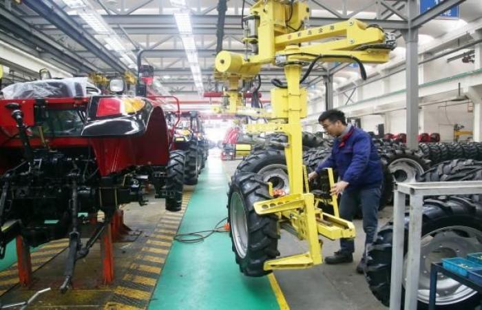 انخفاض مؤشر مديري المشتريات للقطاع التحويلي الصيني في أكتوبر