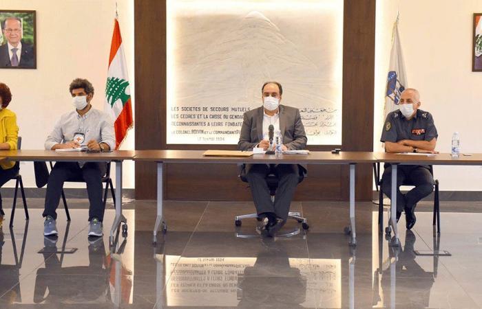 اجتماع لرفع حالة التأهب في السجون اللبنانية