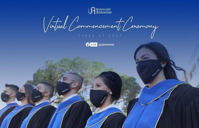 الجامعة الأنطونيَّة تخرّج طلابها في حفل افتراضي