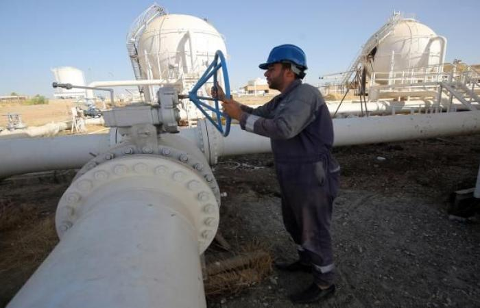 262 ألف برميل نفط واردات الأردن من العراق في أكتوبر