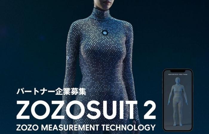 Zozosuit 2 .. بدلة قياس الجسم الثلاثية الأبعاد