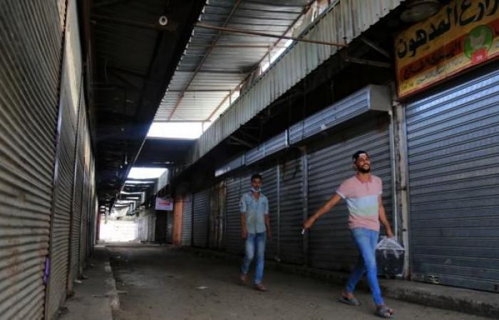 إغلاق الأسواق الشعبية يفاقم البطالة في غزة