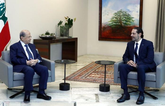 ايجابية وتعاون في ملف الحكومة بين عون والحريري