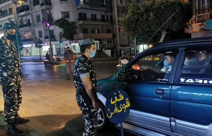 حواجز ليلية في عكار لمواكبة تطبيق شروط الصحة العامة