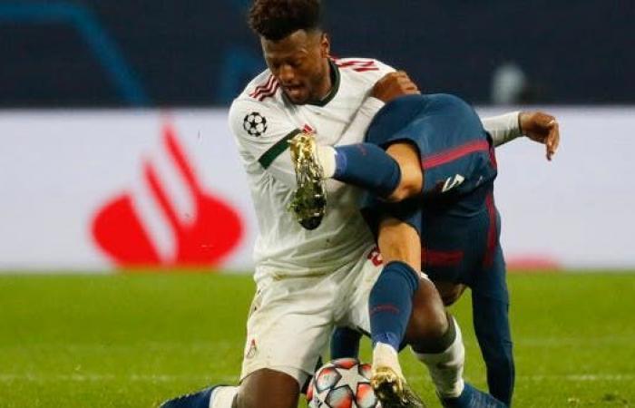 أتلتيكو مدريد يتعادل مع لوكوموتيف في دوري الأبطال