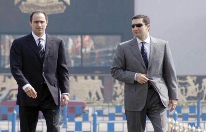 منع علاء وجمال مبارك من التصرف في أموالهما بقضية الكسب غير المشروع