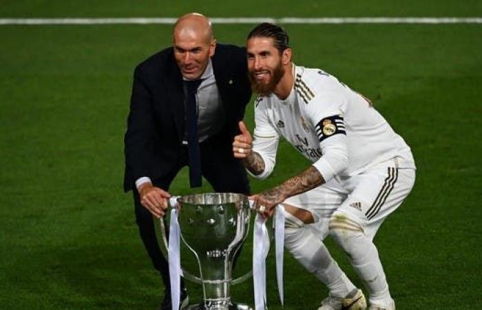 زيدان واثق من بقاء راموس مع ريال مدريد