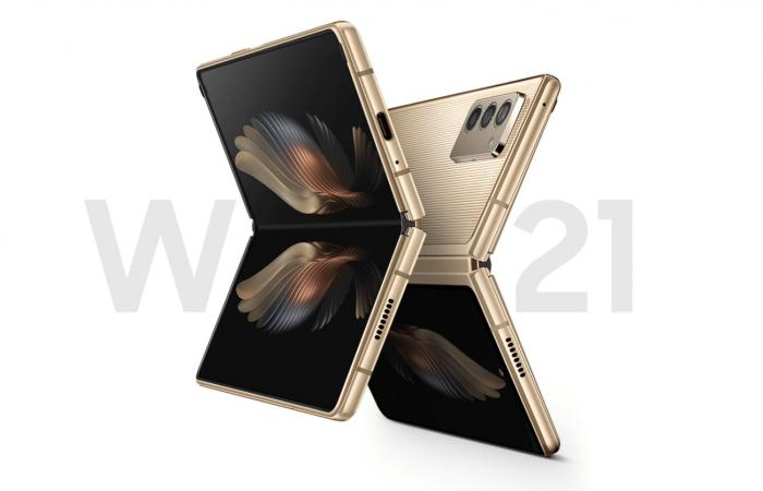 سامسونج تطلق هاتفها القابل للطي W21 5G في الصين