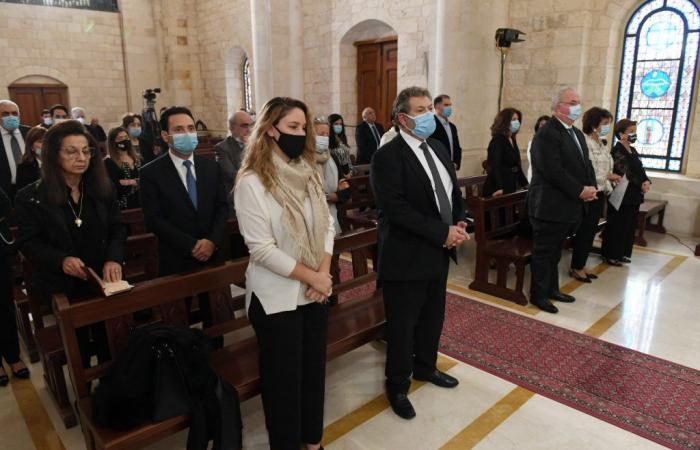قداس في بكركي لمناسبة الذكرى السنوية الأولى لغياب ميشال إده