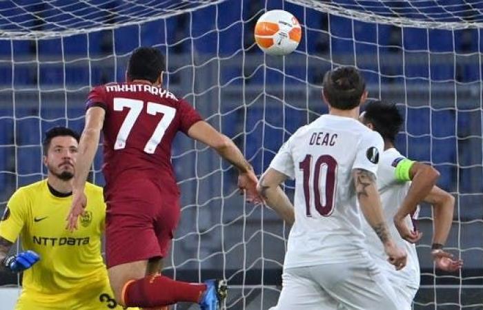 الدوري الأوروبي: روما يسحق كلوج وينفرد بالصدارة