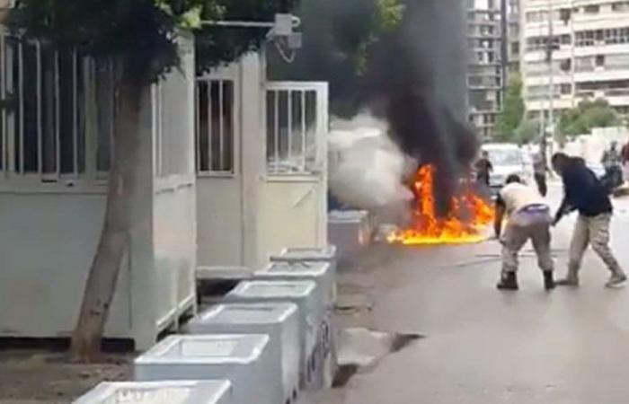 تفاصيل جديدة عن الشخص الذي أحرق نفسه في بئر حسن