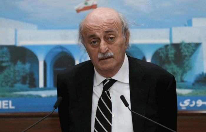جنبلاط: يبدو أن الأسد ينوي القضاء على النظام المصرفي اللبناني