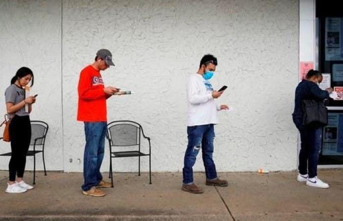 نمو الوظائف الأميركية يتباطأ والبطالة تنخفض إلى 6.9%