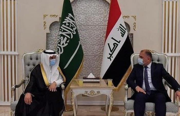 وفد وزاري سعودي يصل العراق لبدء انعقاد مجلس التنسيق المشترك