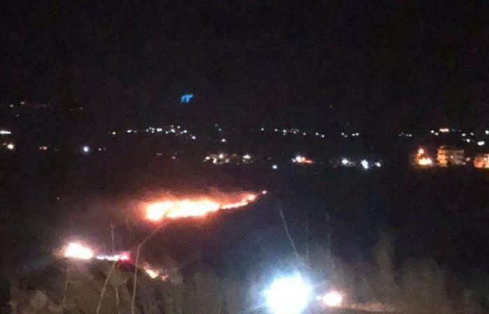 """رئيس بلدية التليل يوضح حقيقة """"الشهب الناري"""" في عكار"""
