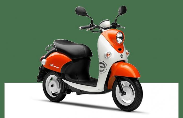 Yamaha تقدم السكوتر الكهربائي الجديد e-Vino