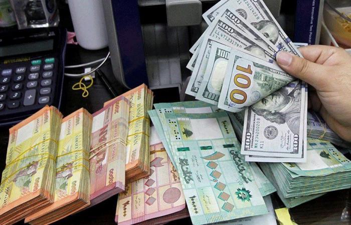 سعر صرف الدولار مقابل الليرة عند الصرافين
