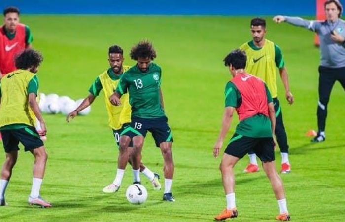 المنتخب السعودي يدشن معسكر الرياض استعداداً لجامايكا