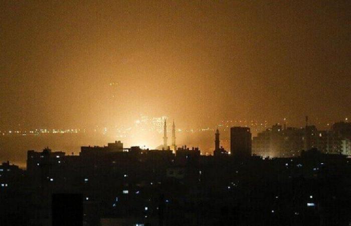 قصف إسرائيلي يستهدف مواقع في غزة