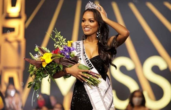"""""""تاج لبناني"""" يتوّج ملكة جمال الولايات المتحدة (فيديو)"""