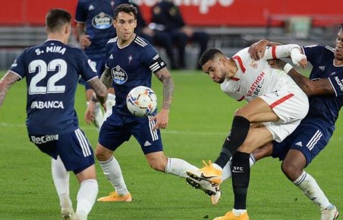 إشبيلية يقسو على سلتا فيغو في الدوري الإسباني