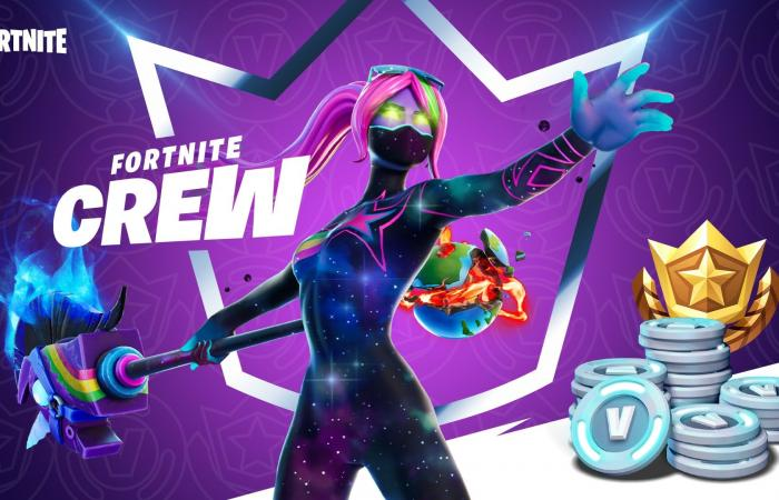 Fortnite Crew .. اشتراك شهري للعبة فورتنايت
