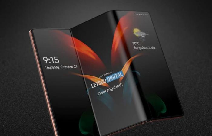 سامسونج تريد إطلاق هاتف ثلاثي الطيات وآخر بشاشة قابلة للف