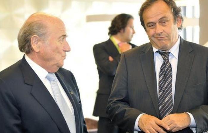 بلاتر وبلاتيني يخضعان لتحقيقات في سويسرا بتهمة الاحتيال