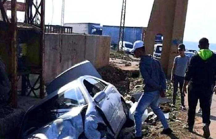 حادث سير لفريق وزارة الصحة في عكار