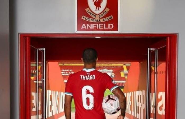كلوب: تياغو سيغيب لبعض الوقت عن ليفربول