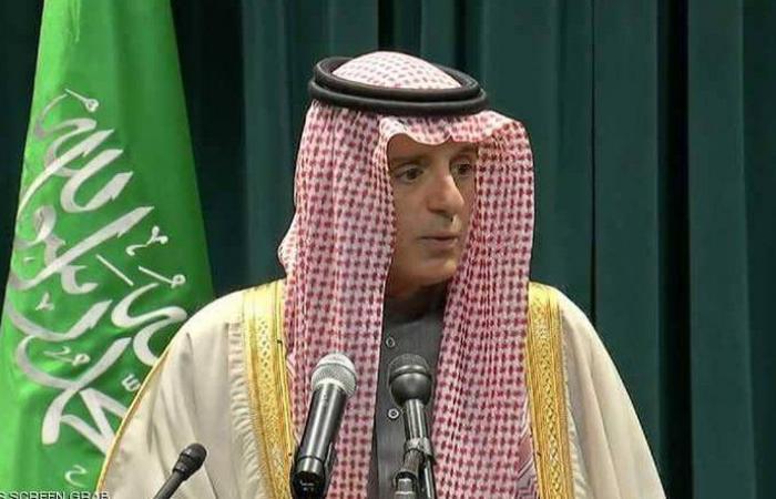 الجبير: اليأس دفع إيران لإلقاء اللوم على السعودية