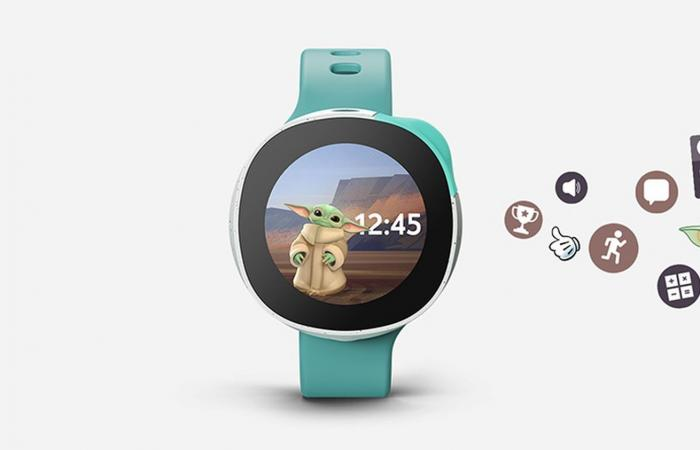 Neo .. ساعة ذكية للأطفال تتميز بشخصيات ديزني