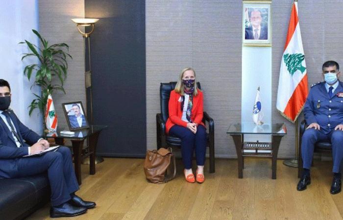 عثمان عرض مع السفيرة الكندية سبل التعاون بين البلدين