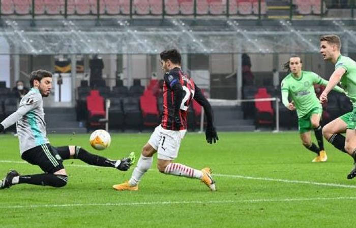 الدوري الأوروبي: تأهل ميلان وليل إلى دور الـ 32