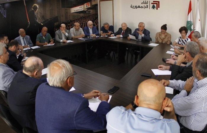 لقاء الجمهورية: الهروب من الإصلاحات سيخرج لبنان من النظام العالمي