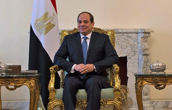 السيسي يبعث رسالة لقادة الجنوب الليبي