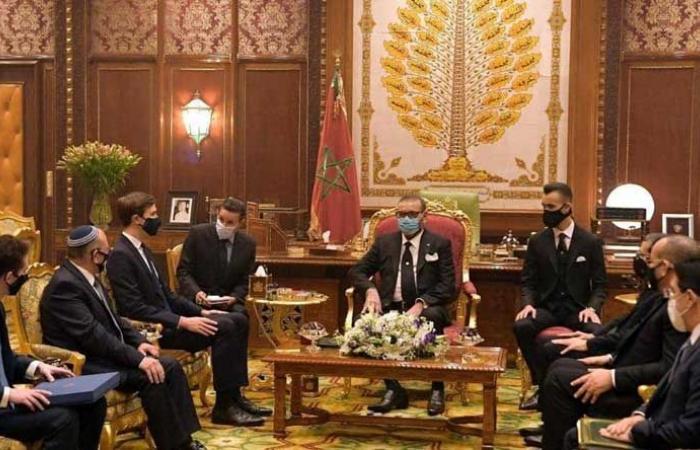 تفاصيل لقاء ملك المغرب مع الوفد الإسرائيلي الأميركي
