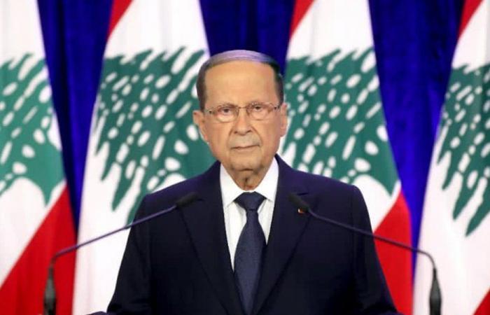 عون تلقى برقيات تهنئة بالاعياد من عدد من رؤساء وقادة الدول