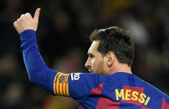 ميسي يغيب عن تدريبات برشلونة ويغادر إلى الأرجنتين