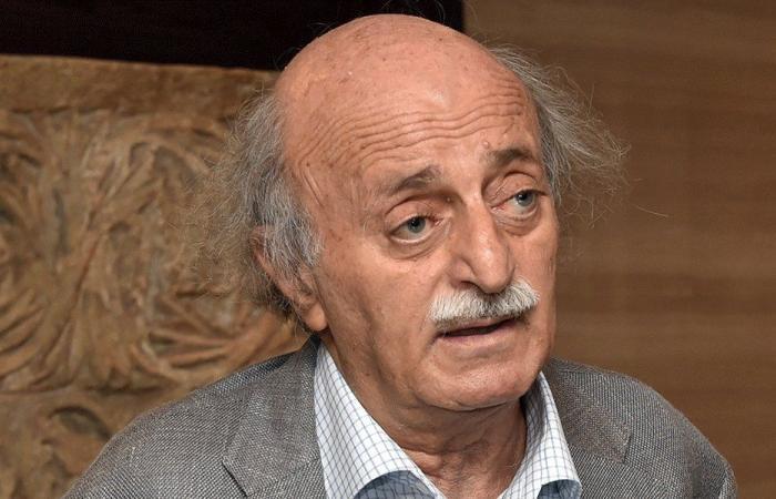 جنبلاط: يا لها من مسرحية من قبل عصابة النظام