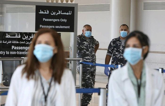 """17 مصابًا بـ""""كورونا"""" على متن رحلات وصلت إلى بيروت"""