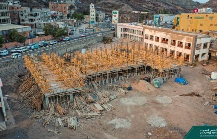 """""""إعمار اليمن"""" ينشئ 23 مدرسة نموذجية جديدة"""