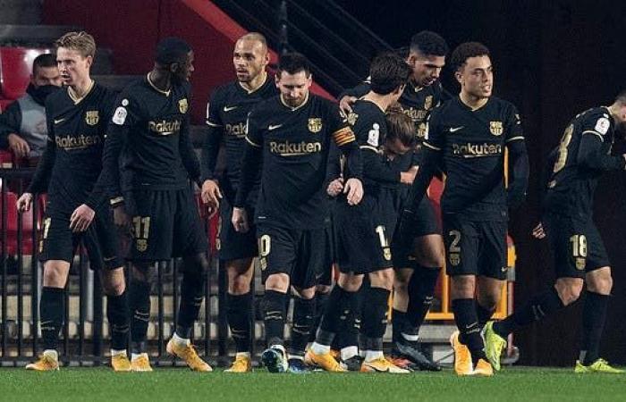 برشلونة يرفض الخسارة أمام غرناطة ويهزمه بخماسية