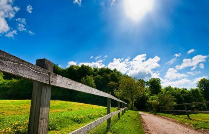 الطقس مستقر والحرارة إلى معدلاتها الموسمية