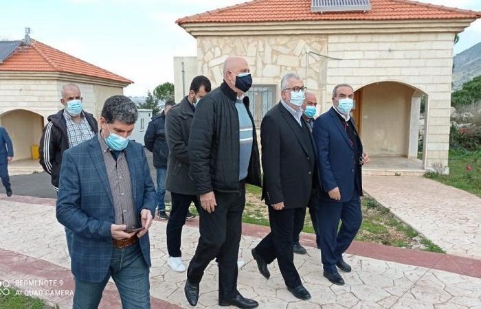 زيارة من حب الله لمركز الإمام الصدر للحجر الصحي
