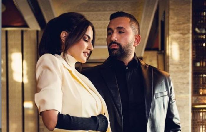 درة وهاني سعد يتصدران غلاف elle arabia بمناسبة عيد الحب