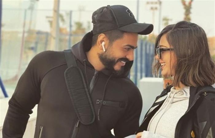 بالفيديو- بسمة بوسيل تكشف عن مفاجأة تامر حسني لها في عيد الحب