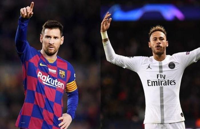 غياب نيمار وتألق ميسي يرجح كفة برشلونة أمام باريس