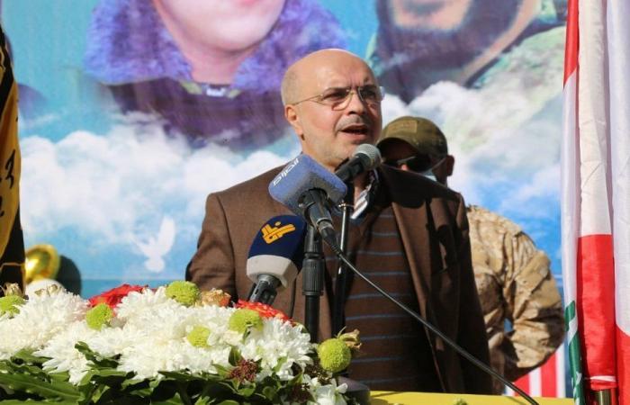 جمعة : حزب الله منفتح على الجميع لحل عقد تشكيل الحكومة